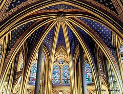 Sainte-Chapelle and the Conciergerie, Paris, France
