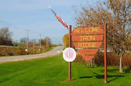 Welcome to Iron Ridge, Wisconsin