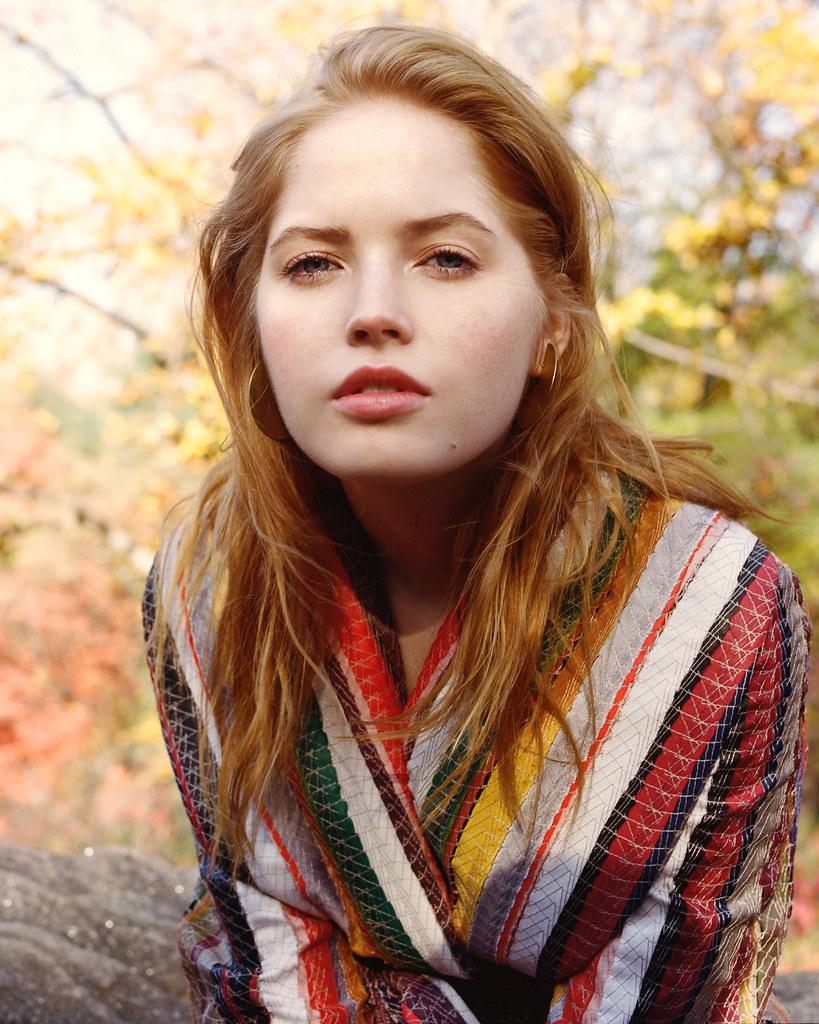 Элли Бамбер — Фотосессия для «Vogue» 2016 – 4