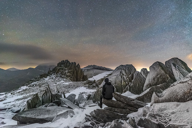 'An Icy Nightscape' - Glyder Fach, Snowdonia