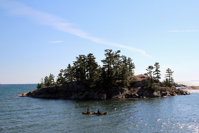 Killarney Georgian Bay Island Kayaker