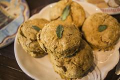 Sage Pumpkin Biscuits