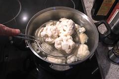 26 - Blumenkohl blanchieren / Blanch cauliflower