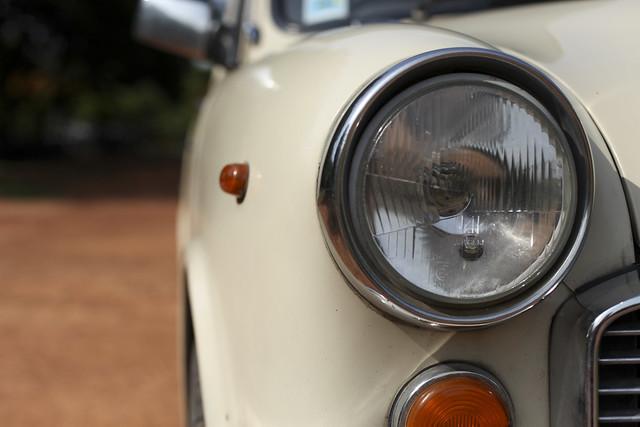 Ambassador close-up Bangalore