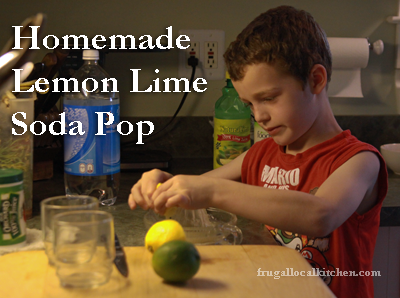 Kids in the Kitchen Video: Lemon Lime Soda Pop