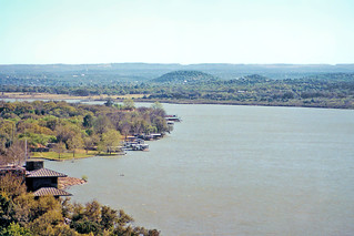 Lake Lyndon B Johnson from Overlook, Texas Hill Country