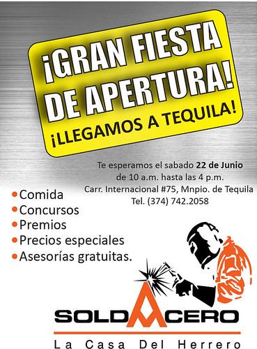 Gran Inauguración de nuestra Sucursal #SoldAcero en Tequila by Aceros Murillo