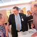 Renown Health posted a photo:	Don Sibery, Interim CEO, Renown Health, has a moment with David and Judy Hess.