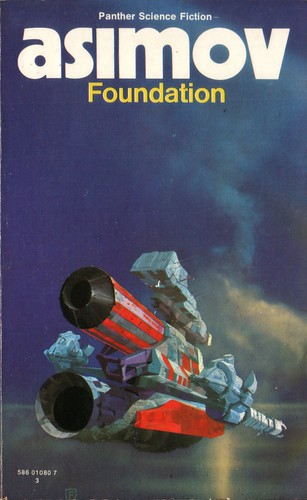 Foundation by Isaac Asimov. Panther 1973. Cover artist Chris Foss