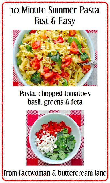 10 Minute Summer Pasta for a Fast and Easy Dinner