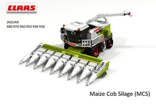 CLAAS Jaguar 900-Series Harvester (Maize Cob Silage MCS)