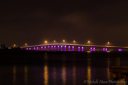 ocean county longexposure nightphotography bridge light color water night canon dark photography lights bay newjersey glow nightscape nj noflash photoaday t3 atlanticocean afterdark 2013 3652013 2013365