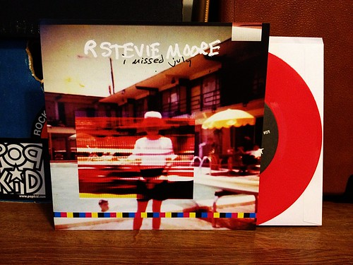 "R. Stevie Moore - I Missed July 7"" - Red Vinyl (/300) by Tim PopKid"
