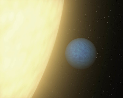 First-of-Its-Kind Glimpse at a Super Earth