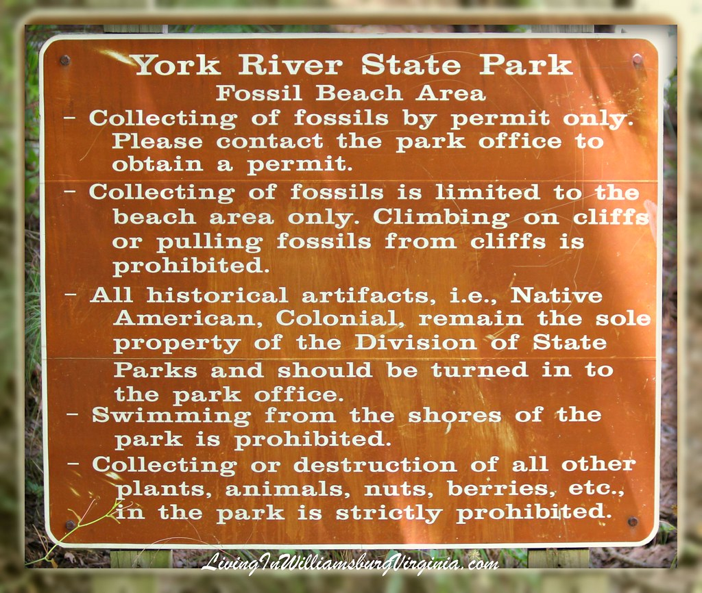 York River State Park Sign