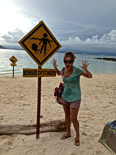 Lina needed this sign in the Philippines