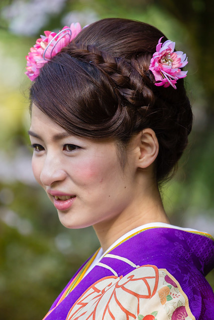Kyoto - Heian Shrine - Portrait