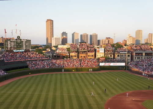 Wrigley Field - Golden Hour