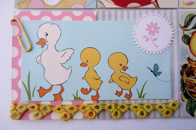 Sweet, Pastel, Baby Ducks & Birds Tiny Book
