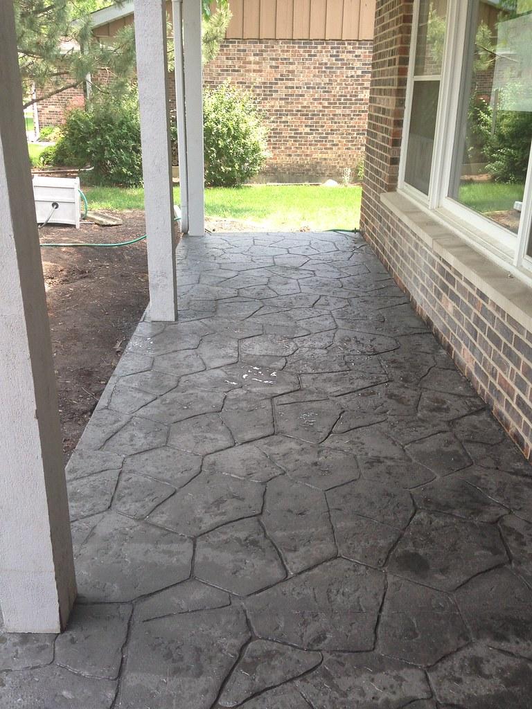 B G R Construction Stamped Concrete