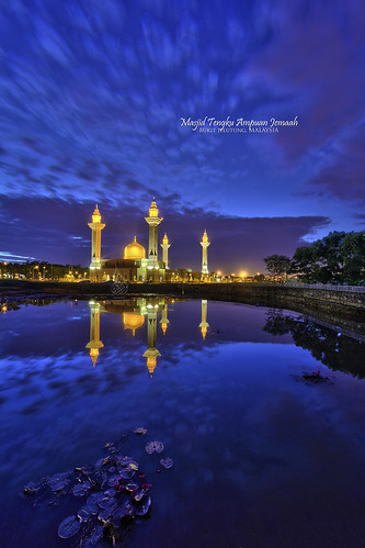 sunrise hdr nighthdr bukitjelutong hdratnight sifoocom nikond7100 nurismailphotography nurismailmohammed nurismail masjidtengkuampuanjemaah