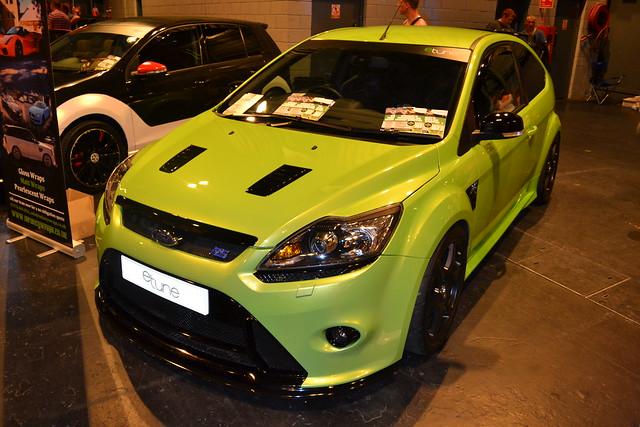 Focus Rs Green Caliper Paint