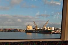 Freo Port Through the Train Window