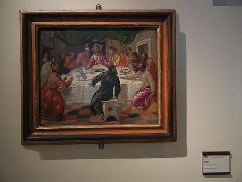 DSCN3361 _ Ultima Cena, Theotokòpulos Domenico detto El Greco, 1564-70