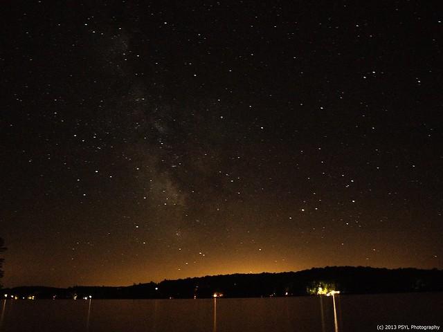 Milky Way over Kushog Lake