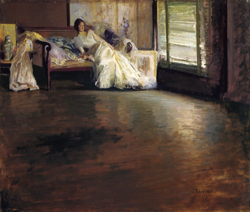 Edmund C. Tarbell, Across the Room (AKA By the Window or Leisure Hour)