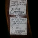Ticket stubs from Sunday by allaboutgeorge