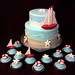sailor baby shower cake