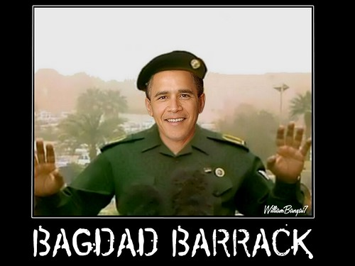 BAGDAD BARRACK by WilliamBanzai7/Colonel Flick