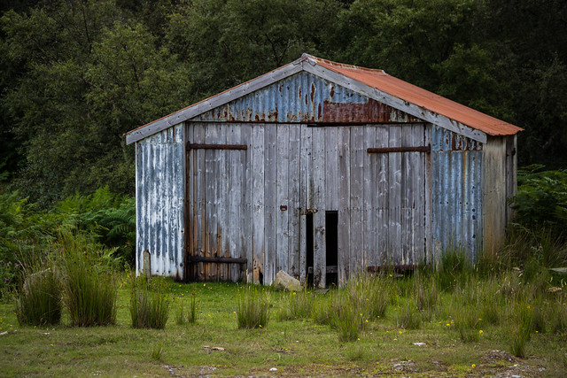 An Old Shed - Northern Scotland