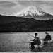 Fishing at Fuji by Stuck in Customs