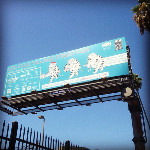 Went for a hot walk to check out the billboard (by Tiki Ti)!