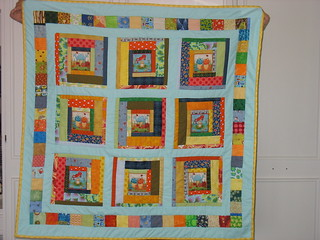 Friendly Frogs Quilt