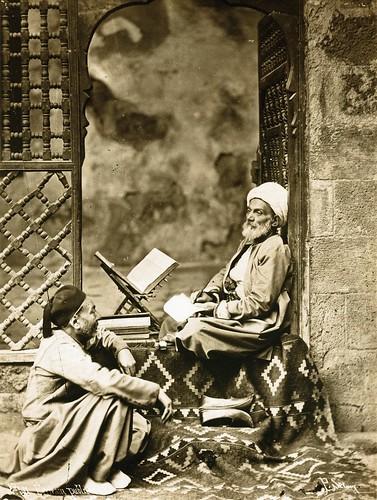 Pascal Sebah - Public Scribe, ca 1870