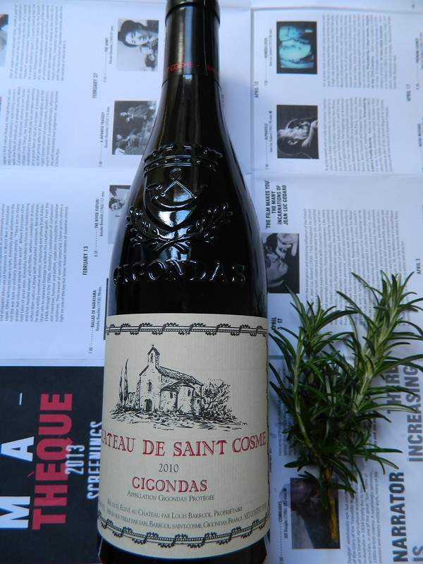 CHATEAU DE SAINT COSME Gigondas 2010 [Wine #2 Wine Spectator Top 100 Wines of 2012]