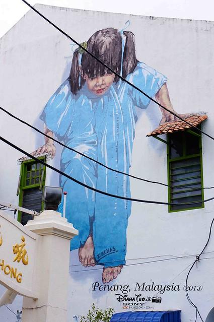 22. Penang's Art Street
