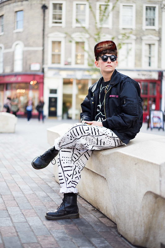 Street Style - Caliesse, London Fashion Week