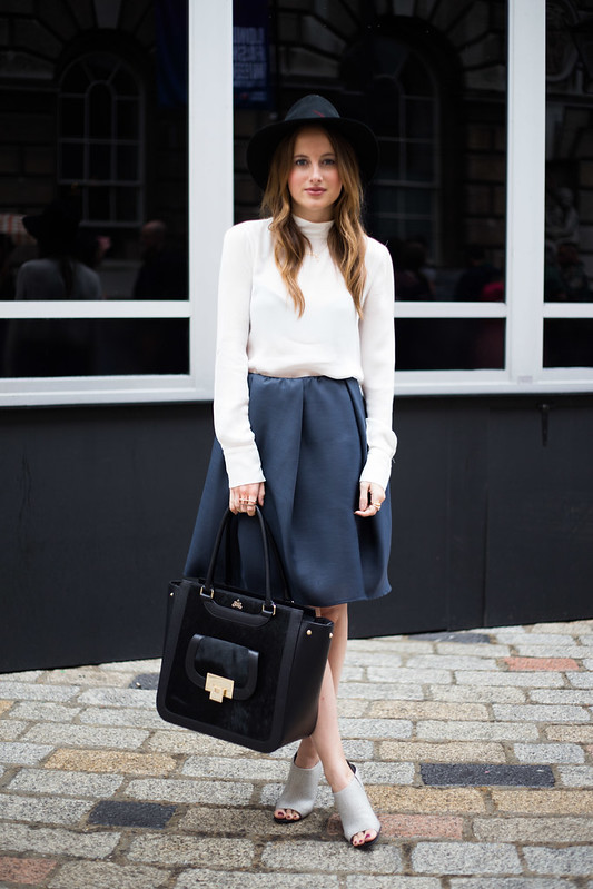 Street Style - Rosie Fortescue, London Fashion Week