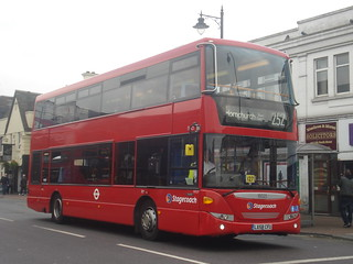 Stagecoach 15025 on Route 252, Romford Station