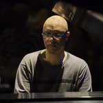 Billy Childs at the Broad Stage's Edye Second Space on Sunday, September 1, 2013. Photos reproduced by Bob Barry's kind permission.
