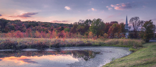autumn sunset color fall church water rural reflections pond pennsylvania country september foliage 30th monday autumnal hdr nepa edr luzernecounty backmountain 2013 jacksontownship huntsvilleroad