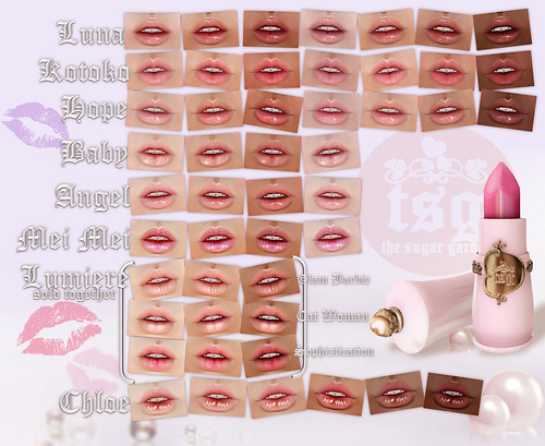 .tsg. Skin Lip Appliers for Loud Mouth by Eilfie Sugarplum