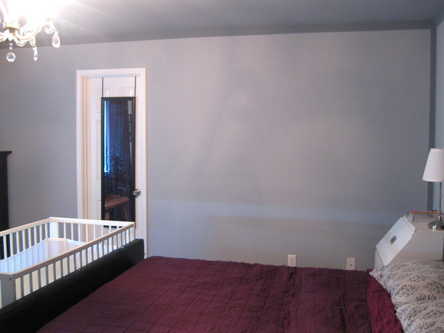 wall 4 master bedroom