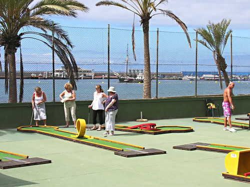 Mini golf, Los Cristianos