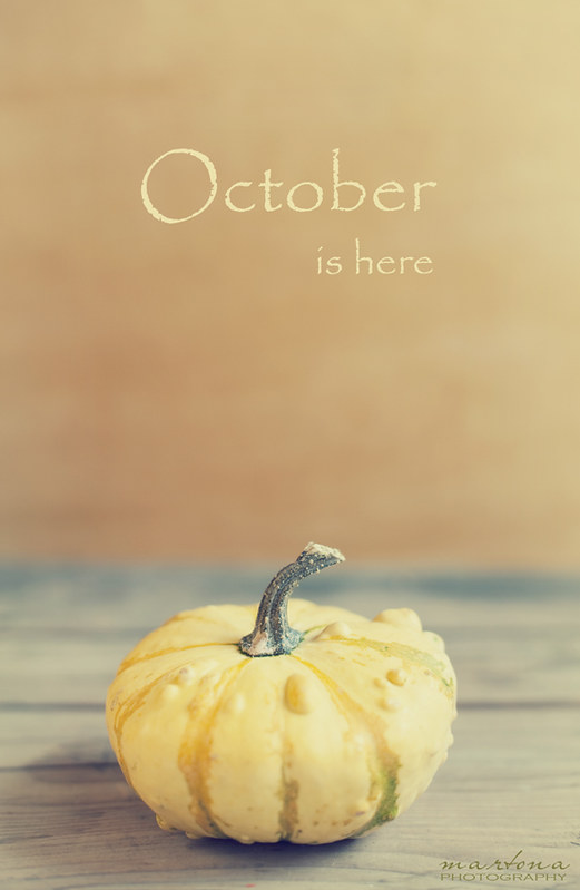 October is here