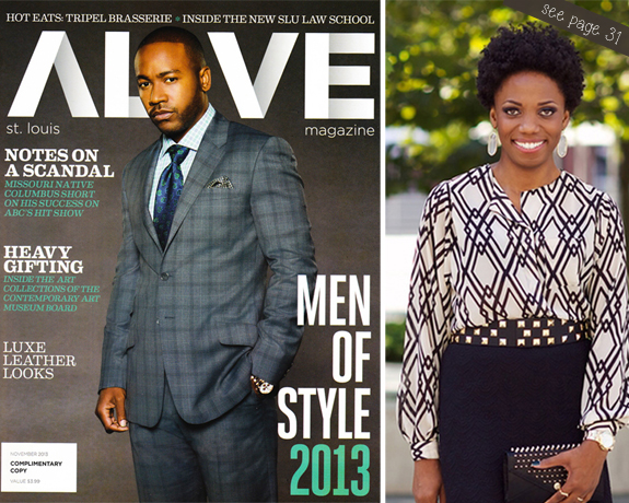 Alive Magazine Cover, November 2013 2